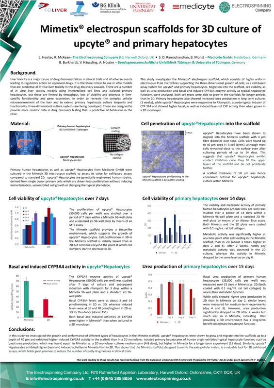 Flyers & Posters | The Electrospinning Company